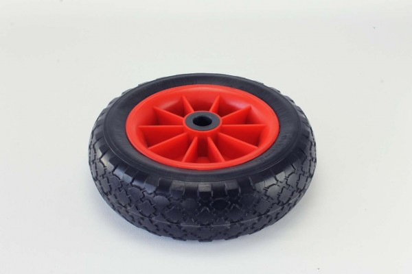 PU-tyre, red wheel, Style